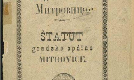 Штатут градске обћине Митровице