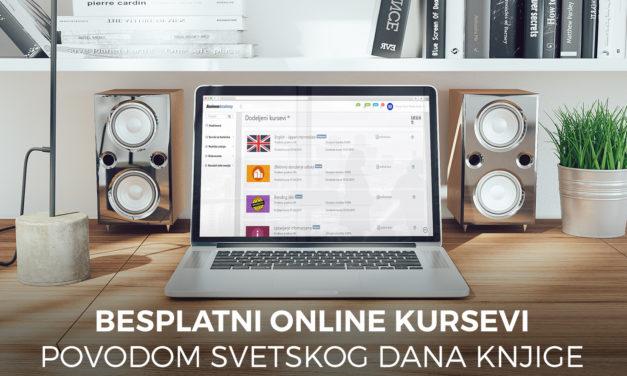 Nagrađujemo čitaoce online kursevima obrade teksta i engleskog jezika