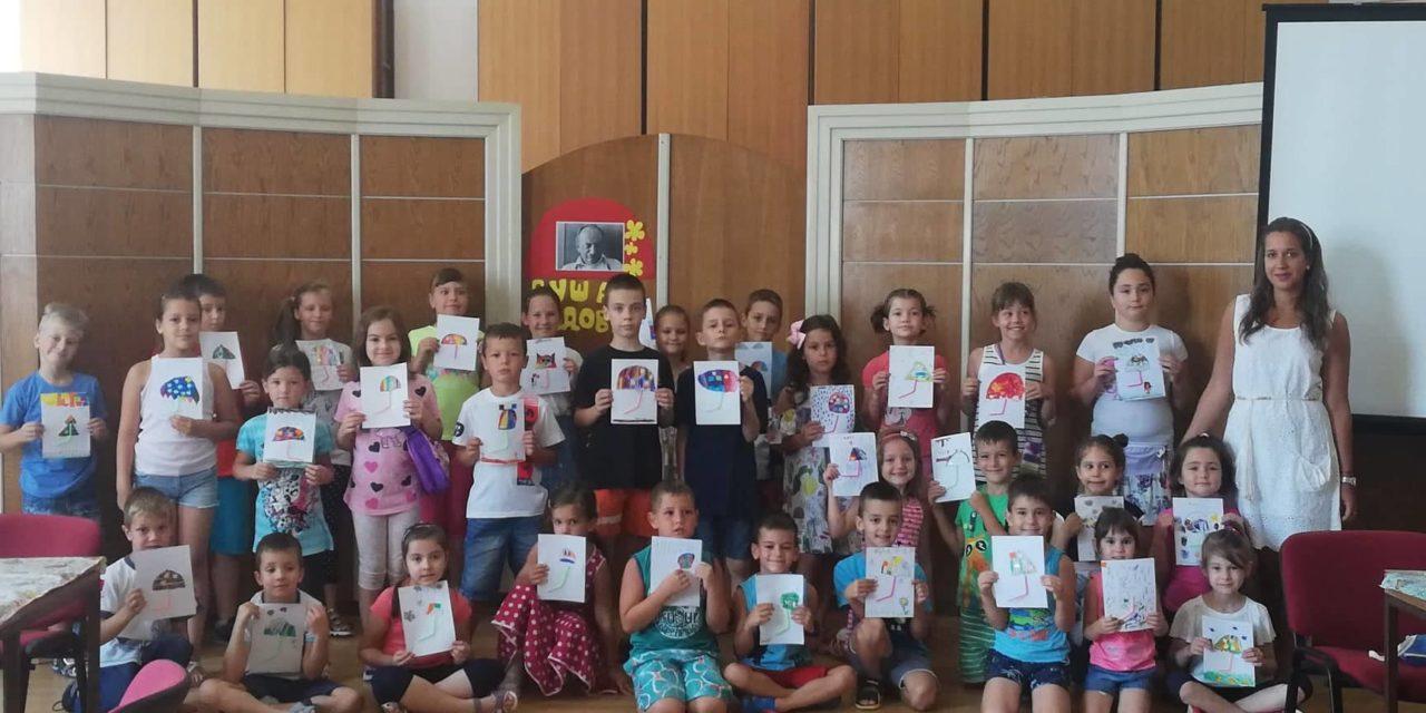 Летње креативне радионице Трећа и четврта радионица Млађи узраст
