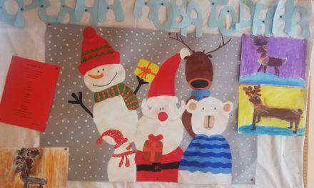 Новогодишња изложба на Дечјем одељењу