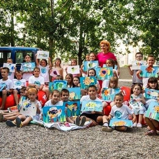 Oдржана је креативна радионица за децу